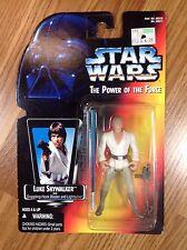 Star Wars Power Of The Force Luke Skywalker Action Figure / A New Hope / Kenner