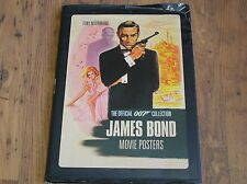 James Bond Movie Posters By Tony Nourmand with jacket hard back - FAST FREE POST