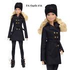 """ELENPRIV FAO-016 trench hat leggings Barbie MTM Pivotal Poppy Parker 12"""" doll"""