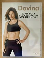 Davina Super Body Workout DVD Exercise / Fitness Workout Routine