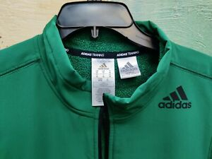 Adidas COLD.RDY Training Vest Green 1/4 Zip Sample Not For Resale Tag.