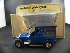 MATCHBOX models of yesteryear  Y-5 TALBOT 1927 Chocolat MENIER neuf en boite