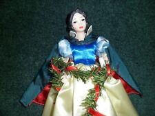 Disney Snow White Lighted Christmas Tree Topper Used Nice