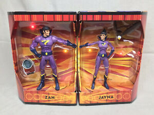 Mattel SDCC 2009 DC Universe Classics Wonder Twins Zan Jayna MIB Rare N8526