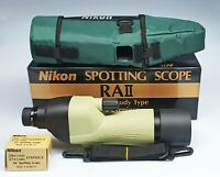 NIKON SPOTTING SCOPE RA II + EYEPIECE 20 X ( D 60 )