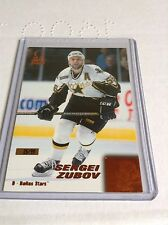 99-00 1999-00 PACIFIC OMEGA SERGEI ZUBOV COPPER PARALLEL /99 77 DALLAS STARS