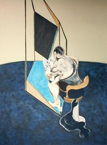 Francis Bacon, Studies of the Male Back 1970, Hand Signed Lithograph