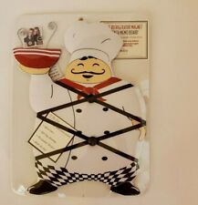 """New View French Chef Memo Board French Bistro Magnetic Board 12"""" X 8"""""""