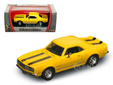 1967 CHEVROLET CAMARO Z-28 YELL 1/43 DIECAST MODEL CAR BY ROAD SIGNATURE 94216