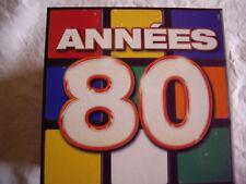 COFFRET HITS BOX ANNEES 80 : 10 CD / 150 TITRES + 2 DVD KARAOKE / 20 TITRES