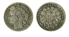 pcc1840_24) Francia -  2 Francs 1887 A