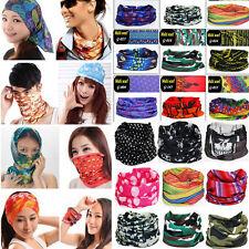 60 Colors Multi Purpose Head Face Mask Snood Bandana Neck Warmer Sport Scarf