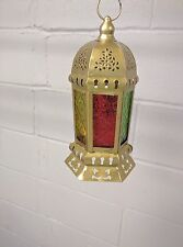 Ramadan Eid Egyptian Lantern Fanoos fanus Candle Lamp led Holder Decor
