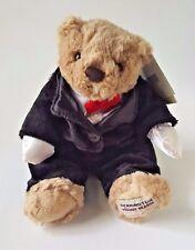 Herrington Celebration Collection Happy New Year Teddy Bear w/ Tuxedo & Bow Tie