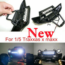 New Front Bumper 7 LED Light White Bar Lamp Alloy Parts for TRAXXAS X-MAXX XMAXX