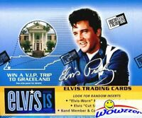 2007 Press Pass Elvis Presley IS MASSIVE Factory Sealed 24 Pack Retail Box !