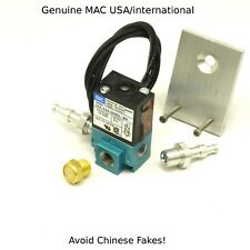 GENUINE MAC Boost solenoid valve BCS 35A-AAA-DDBA-1BA with flat  Bracket