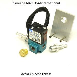GENUINE MAC Boost solenoid valve BCS 35A-AAA-DDBA-1BA with flat  Bracket