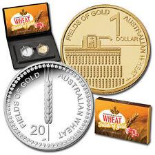 2012 Australian  Wheat Fields of Gold 2 Coin Proof Set