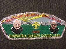 Mint CSP Hiawatha Seaway Council TA-101 Hillcourt Museum