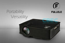 Full HD 1080P Home Theater LED Mini Multimedia Projector with Free Headset.