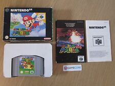 SUPER MARIO 64 - NINTENDO 64 N64 (PAL) GAME BOXED COMPLETE