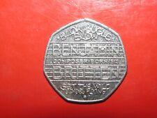 2013 Benjamin Britten 50 Pence 50p Circulated coin