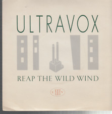 "ultravox reapthe wild wind 7"" uk clear vinyl"