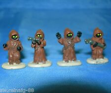Star Wars Micro Machines JAWAS Tatooine 4 Mini Action Figures LOT #4 Galoob 1996