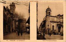 CPA TOULON La Cathédrale Saint Francois de Paule (338442)