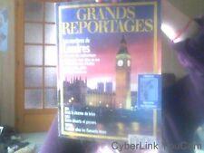 GRANDS REPORTAGES N° 154 du 01-11-1993 LES MYSTERES DE LONDRES - ASIE...