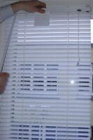 Rollo, Jalousie, weiß  Jalousette Plissee Lamellen Fenster, 60 x 100 cm