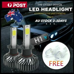 H1 1380W 350000LM Philips LED Headlight Kit Driving Lamp Globes Bulbs Hi/Lo Beam
