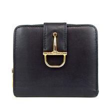 Authentic CELINE Horsebit wallet leather[Used]