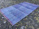 Bohemian rug, Large rug, Turkish rug, Vintage rug, Handmade rug | 5,6 x 9,9 ft