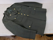 C19 1942 ORIGINALE US officers Service Class a uniform 38r Jacket Chocolate Brown