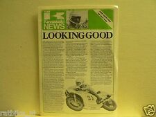 K051 TEAM KAWASAKI NEWS,BALLINGTON,KR500&KR250 RACERS 1980,CARNEY,SHENTON,SUZUKI