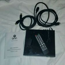 🎄🎄 ONN BLACK MINI DVD PLAYER WITH CABLES & REMOTE MANUAL ONA19DP005 DORM 🎄🎄