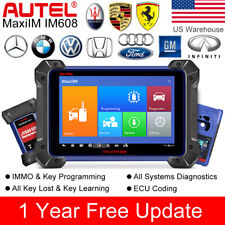 Autel IM608 OBD2 All System Auto Diagnostic Tool Scanner IMMO Key Programming
