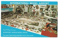 Captain Bryan Carney's International Model Airport PPC, Unposted & Signed, c 80s