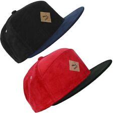 Puma Flat Cap Para Hombre Gorra De Béisbol Cap Beanie Sombrero Gorra De Cable Rojo Negro M/L/XL