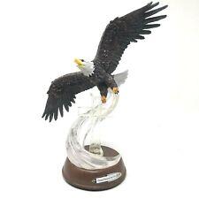 Bradford Exchange Illuminated 9/11 Eagle Cross Figurine Sculpture