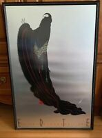 "Erte Art Deco Serigraph Framed Print, Mirage Editions, 32"" X 21.5"""