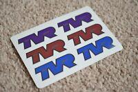 TVR Racing Motorsport Race Rally Car Race Decal Sticker Mutli-Colours 50mm
