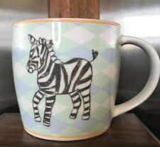 Rosanna Collectible ABC's Zebra Child Cup Coffee Mug Cup Letter Z Iridescent
