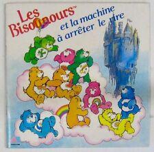 Les Bisounours et la machine à arrêter le rire 45 tours  Livre-Disque 1986