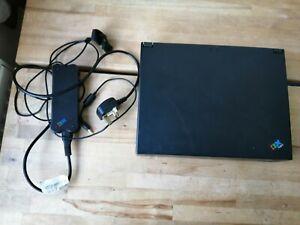 VINTAGE RARE IBM ThinkPad 380D 2635 Intel Pentium Win 98 Including Charger'