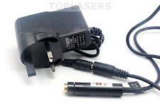 Enfocable Ajustable 635 µ 3 mV Naranja-módulo de diodo láser Punto Rojo W Adaptador De 5 V