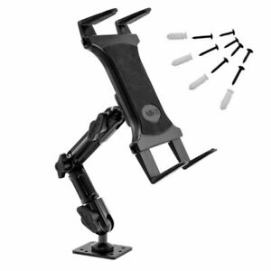 Arkon Heavy Duty Tablet Wall Mount with 8 inch Arm & AMPS Drill Base for iPad