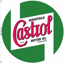 Castrol vintage replilica decal logo Rally Touring Stickers Voiture Course Classique
